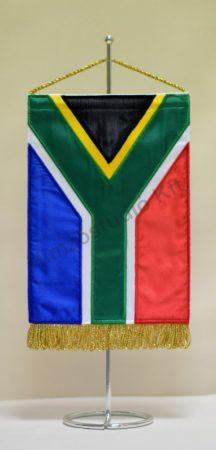 Dél-afrikai Köztársaság hímzett asztali zászló