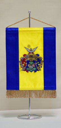 Debrecen hímzett asztali zászló