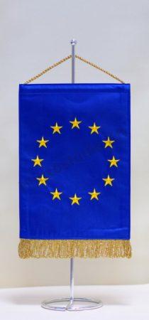 Európai Unió hímzett asztali zászló