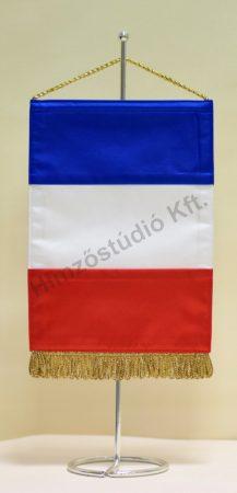 Franciaország asztali zászló