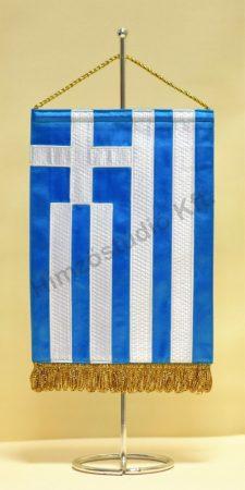Görögország hímzett asztali zászló