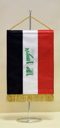 Irak hímzett asztali zászló