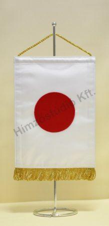 Japán hímzett asztali zászló
