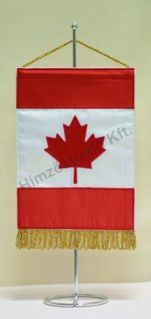 Kanada hímzett asztali zászló