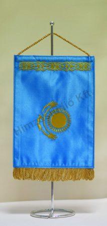 Kazahsztán hímzett asztali zászló