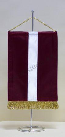 Lettország asztali zászló