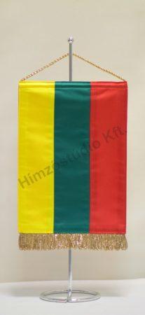 Litvánia asztali zászló