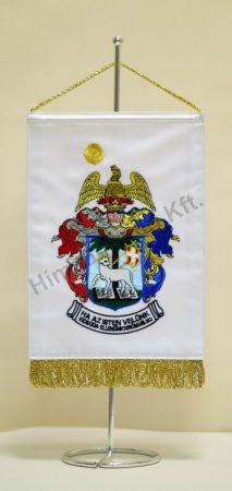 Református hímzett asztali zászló