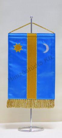 Székely hímzett asztali zászló