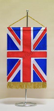 Egyesült Királyság hímzett asztali zászló