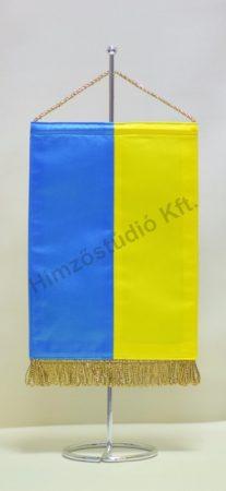 Ukrajna asztali zászló