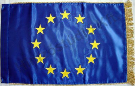 Beltéri szatén Európai Uniós zászló