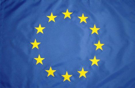 Kültéri Európai Uniós zászló egyrétegű
