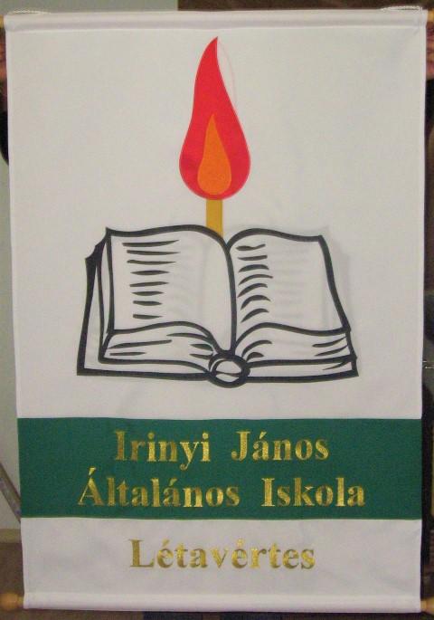 Irinyi János Általános Iskola Létavértes lobogó